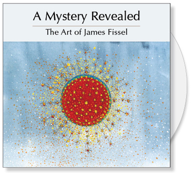 A Mystery Revealed CD is a collection of art by James Fissel that visually explores the mystery of our relationship with God. The Art of James Fissel is inspired by his fascination with the golden sphere and how he sees it reflecting the mystery found in all that is sacred and divine. A Mystery Revealed CD contains 30 images of original art by James Fissel along with writings, artist statements and bio. A great source of Christian art for bulletin covers, sermon illustrations and Powerpoint images.