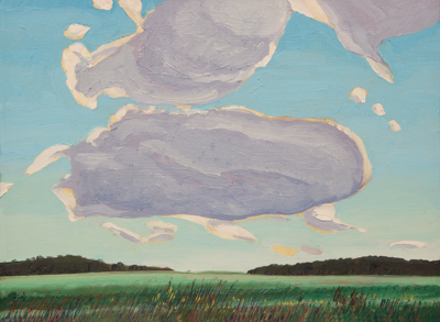 Chris Stoffel Overvoorde painting, AM Near Caledonia, for sale from Eyekons Gallery