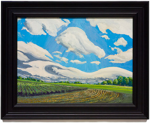 Clouds and Fields by Chris Stoffel Overvoorde