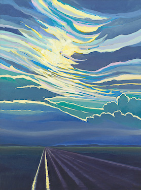 Alberta Eve, painting by Chris Stoffel Overvoorde for sale from Eyekons Gallery
