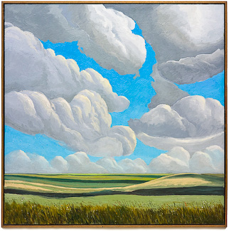 Alberta Fields, painting by Chris Stoffel Overvoorde for sale from Eyekons Gallery