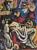 Wayne Forte, Pieta, paintings, link to Artists Home Page, link to Artist Home Page