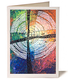Lent Cross, Greeting Card by Lisa Schulist