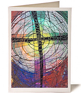 Cross, Greeting Card by Lisa Schulist