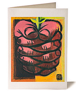 Prayer 4 Life, Giclee Greeting Card by Wayne Forte