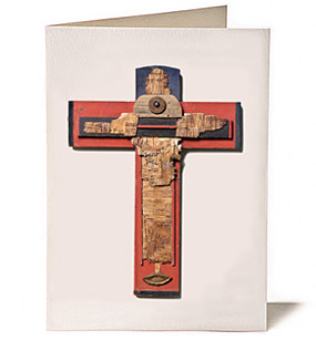 Prior Lake Cross, Giclee Greeting Card by James Quentin Young