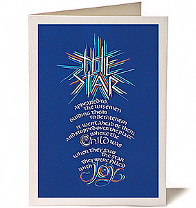 The Star, Giclee Christmas Card by Timothy R. Botts