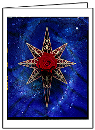 Star of Wonder 2, Christmas Card by Phil Schaafsma