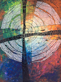 Blessed Are All Those Who Take Refuge In Him, a giclee print by Lisa Schulist from Art+Psalms
