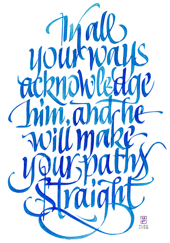 In All Your Ways, a Giclee Print by Matt Plescher, Affordable Fine Art Reproductions available at Eyekons.com
