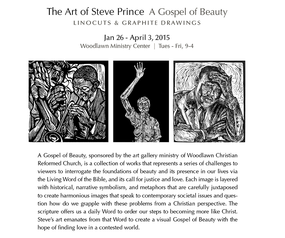 Steve Prince Exhibit at Calvin Symposium on Worship 2015