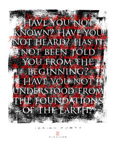 sermon on isaiah 40:21-31