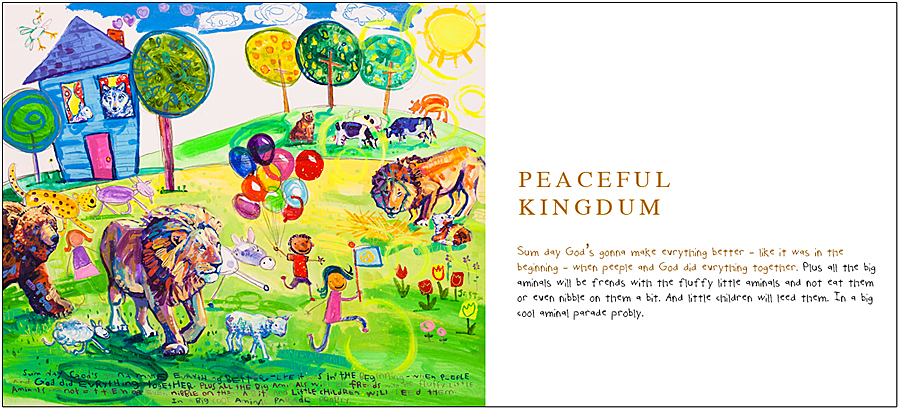 Peaceful Kingdum by Joel Tanis - 40- The Biblical Story Book, available at Eyekons.com