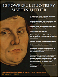 10 Powerful Quotes by Martin Luther by Paraclete Press