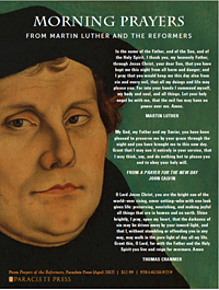 Morning Prayers from Martin Luther and the Reformers by Paraclete Press