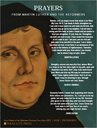 Prayers from Martin Luther and the Reformers by Paraclete Press