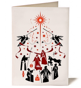 Advent Christmas Card by Nicholas Markell