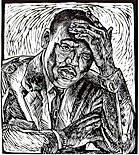 "The Dreamer - Martin Luther King lino-cut by Steve Prince, printmaker, sculptor, teacher, art evangelist, artist & presenter in the ""Who is My Neighbor? Conference & Art Exhibit,"" held on April 25 & 26 in Grand Rapids, MI, featuring the lino-cut prints of Steve Prince, and 10 other artists. The ""Who is My Neighbor? Conference & Art Exhibit"" highlights the lino-cut prints and drawings of Steve Prince and features the Plenary Address by Steve Prince: ""The Second Line - Art as a Catalyst for Change"" and three Steve Prince workshops called ""Katrina Suite: Take Me to the Water"", ""Covenant of Love - Old Testament Made New"" and ""Monoprints: A Christian Vision for a Contemporary World."""